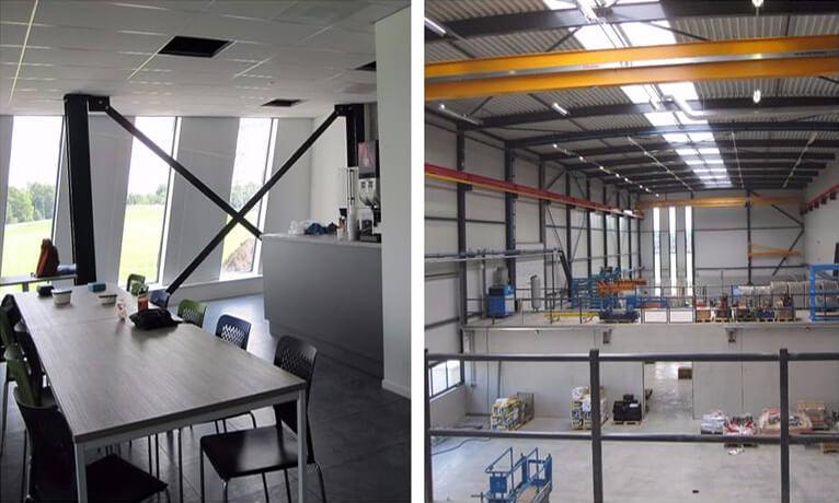 700m2 glasweefsel Nieuwbouw Consmema Hattemerbroek