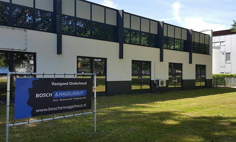 Muurcoating Bedrijfsgebouw Almere