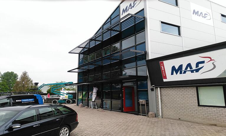 Bedrijfsgebouw MAF Nederland