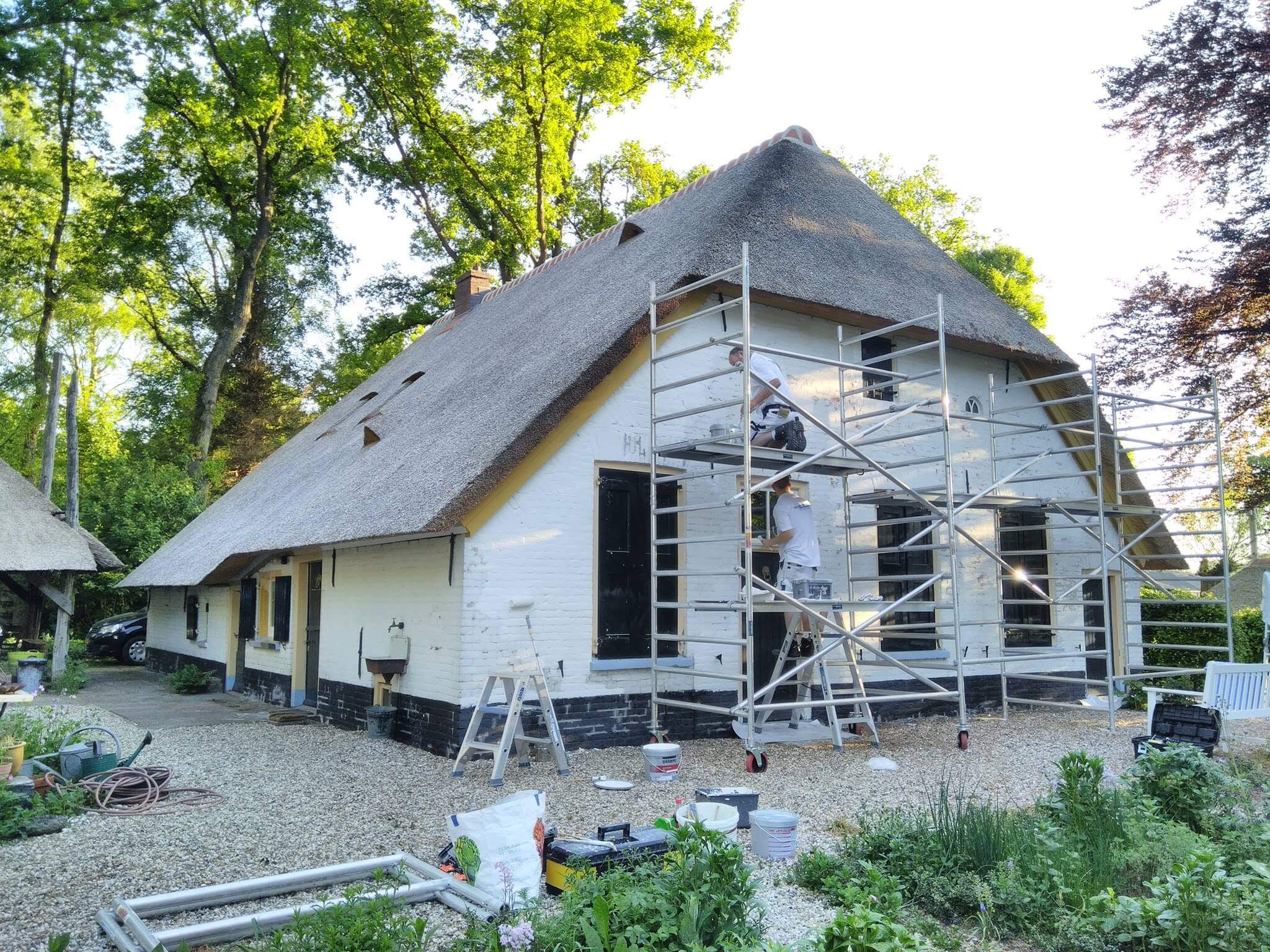 Restauratie monument Doornspijk